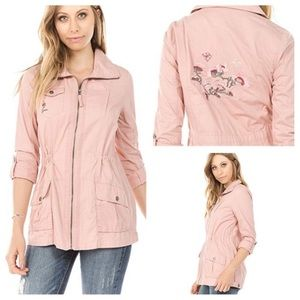 NWT Ashley by 26 International Embroidered Jacket